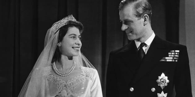 Os detalhes do casamento de Elizabeth II.