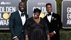 Canada's Stephan James Brings His Mom And Brother To The Golden