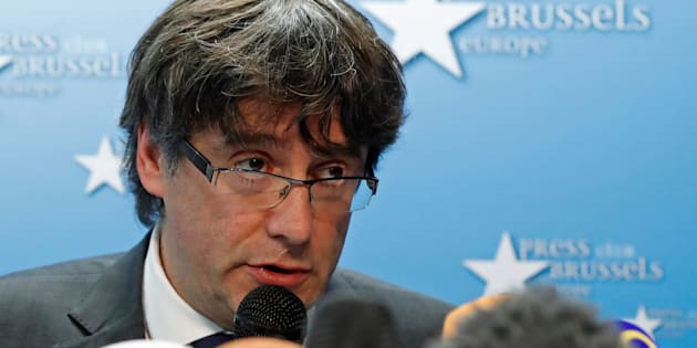 Ousted Catalan leader Carles Puigdemont will need to return from Belgium.
