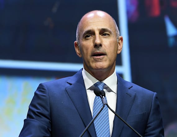 Lauer's first wife says he deserves a second chance