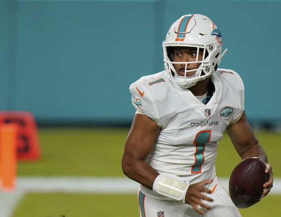 Dolphins coach explains now-official move to Tua
