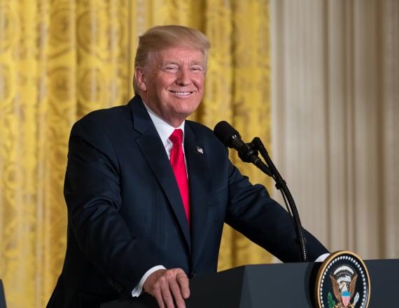 Trump: 'Chosen one' remark was sarcasm