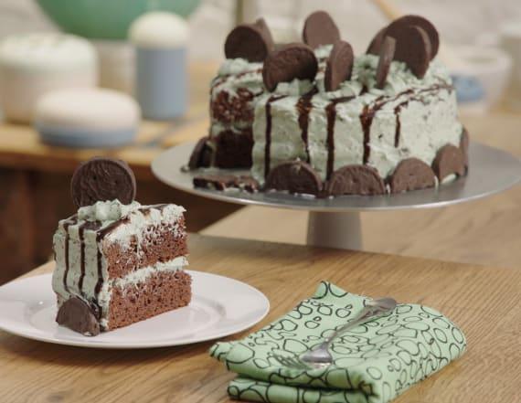 Best Bites: Thin Mint cake