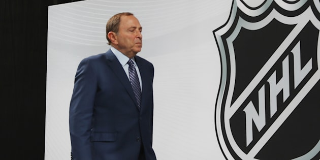 Photo d'archives du commissaire de la LNH, Gary Bettman.