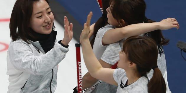 平昌オリンピックでのカーリング日本女子チーム「LS北見」