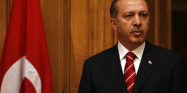 Le président de la République de Turquie, Recep Tayyip Erdoğan.