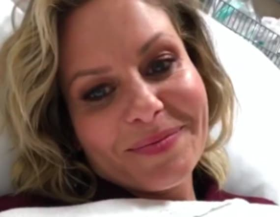 Candace Cameron hospitalized after being ran over