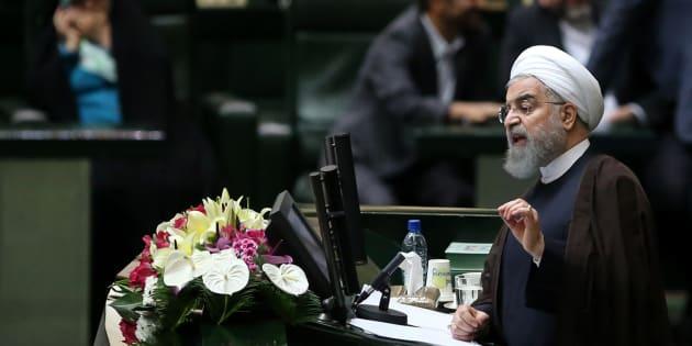 Le président de l'Iran, Hassan Rouhani.