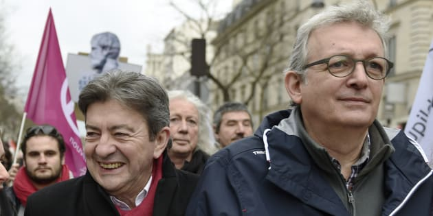 Pierre Laurent pour un soutien à Jean-Luc Mélenchon à l'élection présidentielle 2017