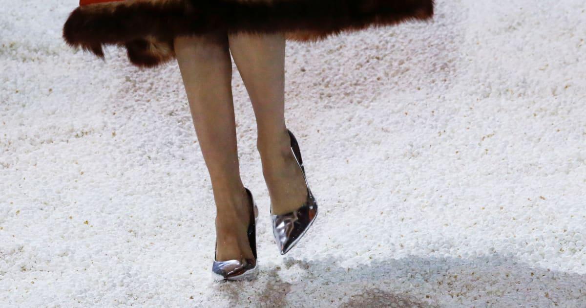 L'idée saugrenue de Calvin Klein pour son défilé n'est pas très anti-gaspi