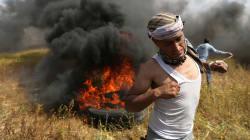Fuerzas israelíes matan a siete palestinos en frontera de
