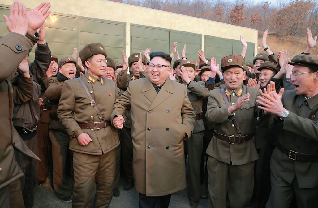 kim jong un is a person who did not even hesitate to kill his uncle and a few weeks ago even his half brother thae said