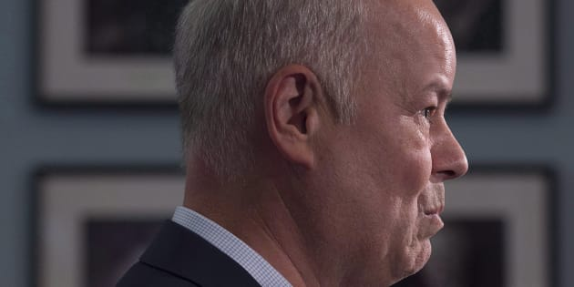 Jamie Baillie, leader of the Nova Scotia Progressive Conservative Party, announces his plan to step down in Halifax on Nov. 1, 2017. Baillie was supposed to remain in office until a new leader is selected.