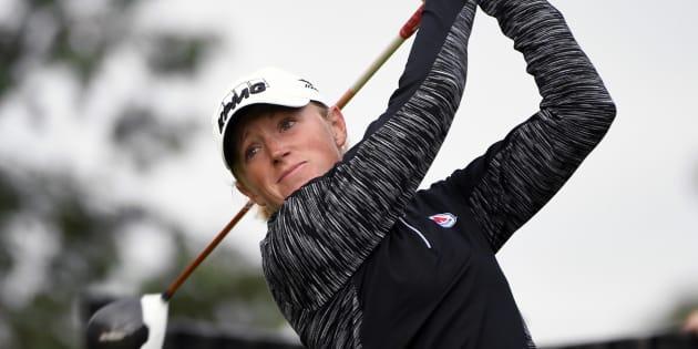 La golfeuse Stacy Lewis pensait perdre tous ses sponsors à l'annonce de sa grossesse.