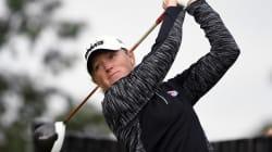 Cette golfeuse pensait perdre ses sponsors à cause de sa grossesse. Il en a été