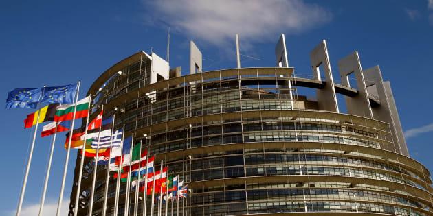 Le Parlement européen de Strasbourg, le 30 juin 2017.