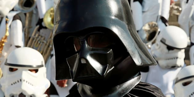 The Tatooine Child Support Recovery office is after you, Vader.