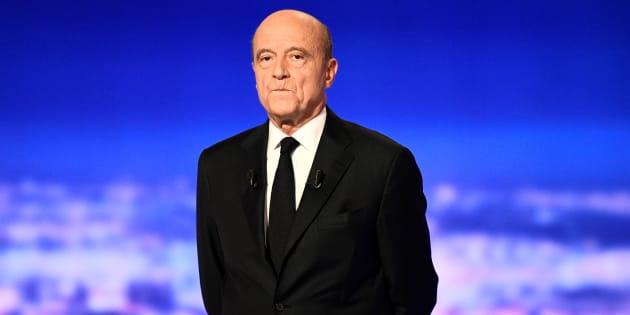 Alain Juppé lors du premier débat pour la primaire de la droite.