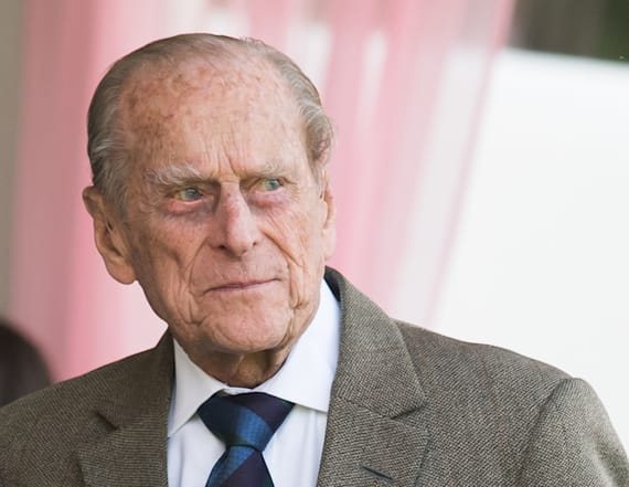 Prince Philip looks regal in new portrait at 96