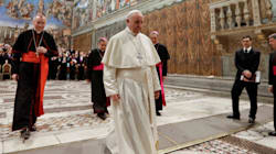 Le pape prône l'union sacrée entre un homme et une
