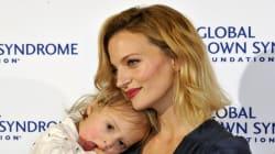 Amanda Booth pose en Une de Vogue avec son fils atteint de