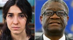 Le Nobel de la paix remis à une ex-esclave et à un