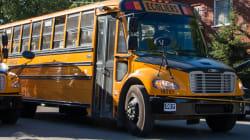 La grève des chauffeurs d'autobus scolaires à Montréal est