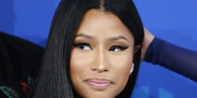 Nicki Minaj arrive aux MTV Music Awards 2016 à New York le 28 août dernier.