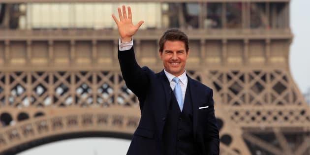 """Le tapis rouge de l'avant-première mondiale de """"Mission: Impossible - Fallout"""" à Paris."""