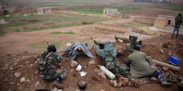 Al-Najjarah, à l'Est d'Alep