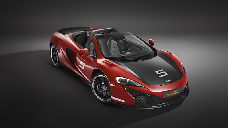 Mclaren Releases Limited Edition 650s Can Am Autoblog