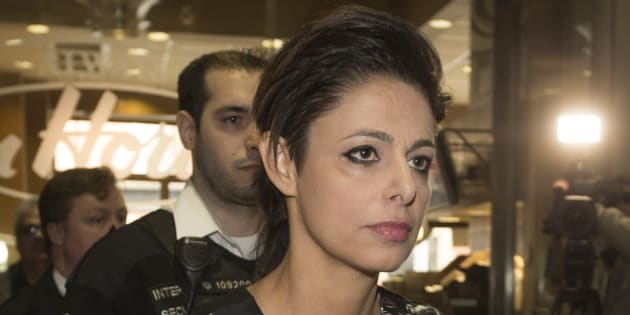 Marie Henein, defence attorney for former CBC host Jian Ghomeshi, is seen after a court appearance to set another date on March 27, 2015.
