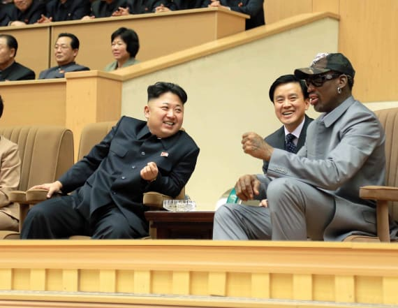 Dennis Rodman wants to talk to Trump about N. Korea