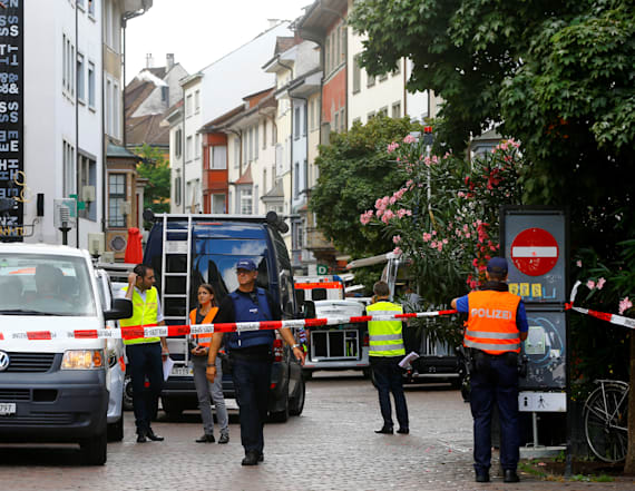 At least 5 hurt after chainsaw rampage in Swiss town