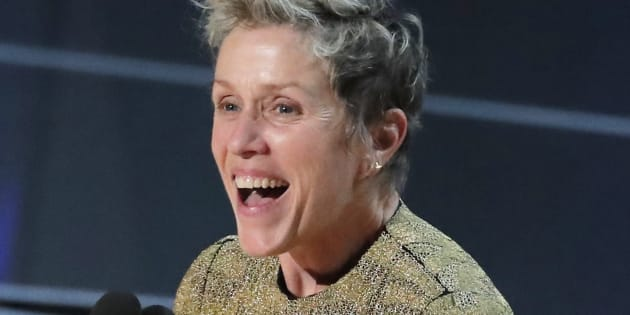 Frances McDormand gana Oscar, se lo roban y lo recupera