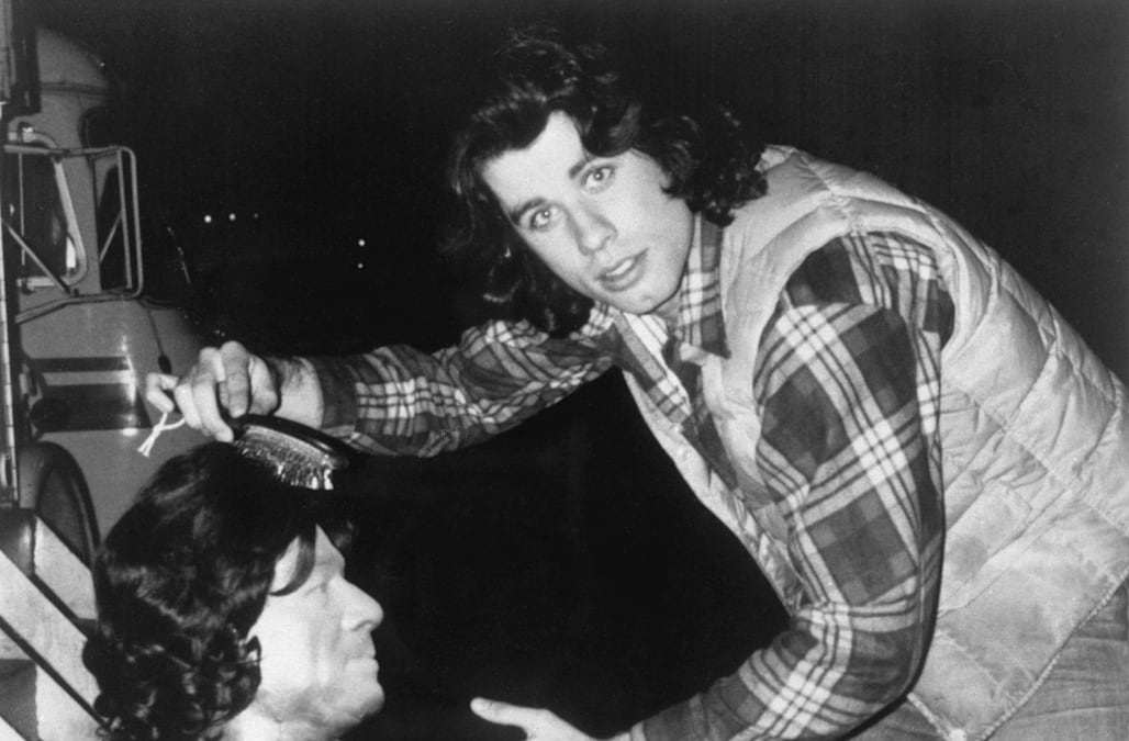 John Travolta shares 'Carrie' set photo from over 40 years