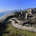 Las mansiones de las estrellas y 'celebrities' arden en los incendios de