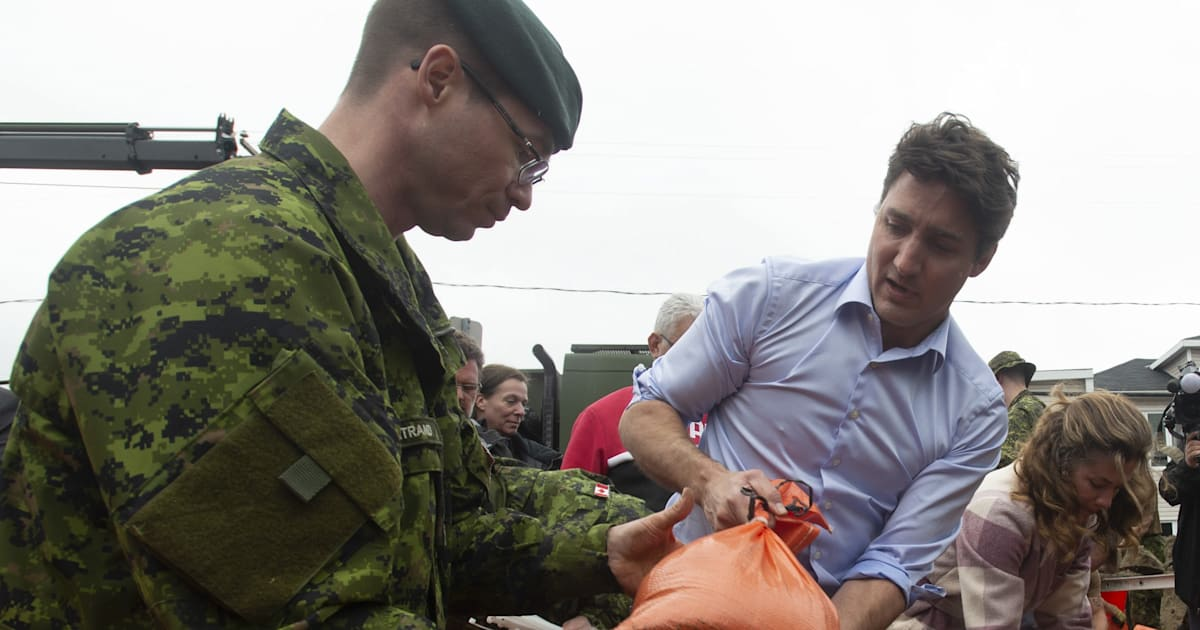 Trudeau: Flooding, Extreme Weather Due To Climate Change The 'New Reality'