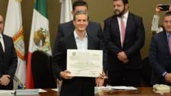 Alfredo Del Mazo, gobernador del Estado de