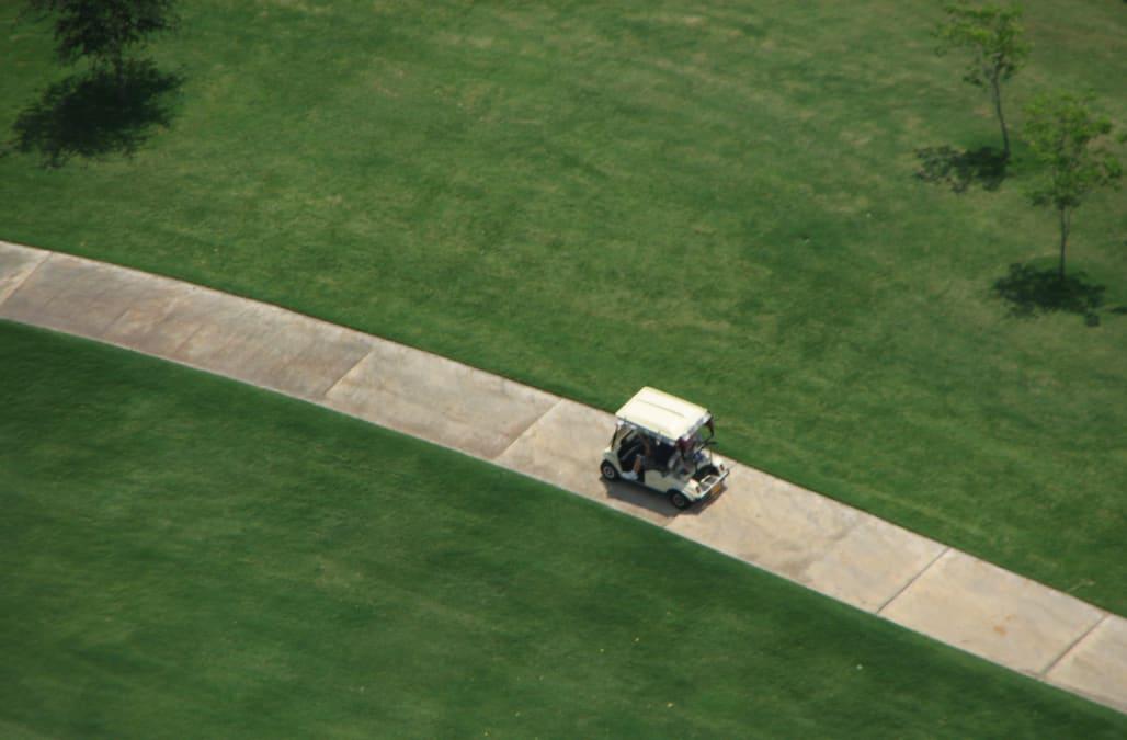 North Carolina toddler dead, six others injured in freak golf cart