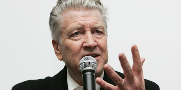David Lynch en 2009, à Moscou.