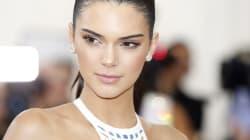 Kendall Jenner a trouvé l'astuce pour porter un haut transparent sans