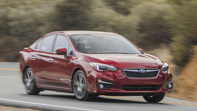 Subaru Announced Pricing On The 2018 Impreza Sedan And Five Door Model Was All New For 2017 Riding A Platform With Sheetmetal Interior