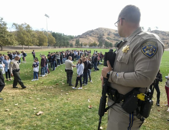 Suspected gunman in Calif. school shooting dies