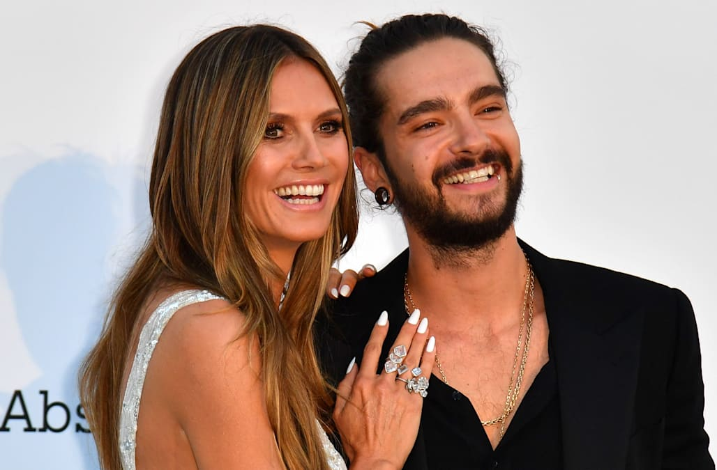 Heidi Klum Makes Red Carpet Debut With New Boyfriend In Cannes Aol