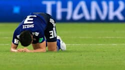 La détresse des Japonais après leur cruelle défaite sur le