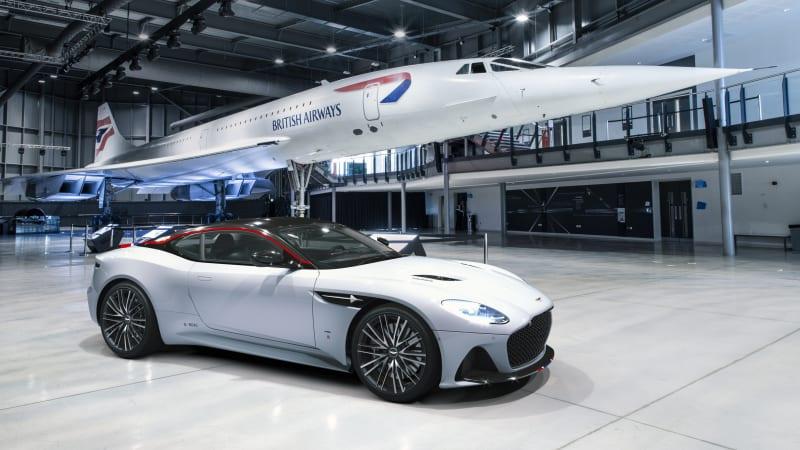Aston Martin DBS Superleggera Concorde Edition celebrates airspeed