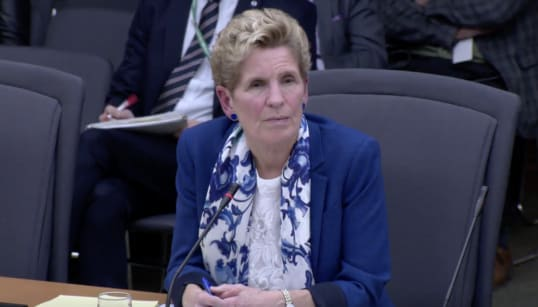 Wynne Defends Liberal Accounting Choices At Tense PC
