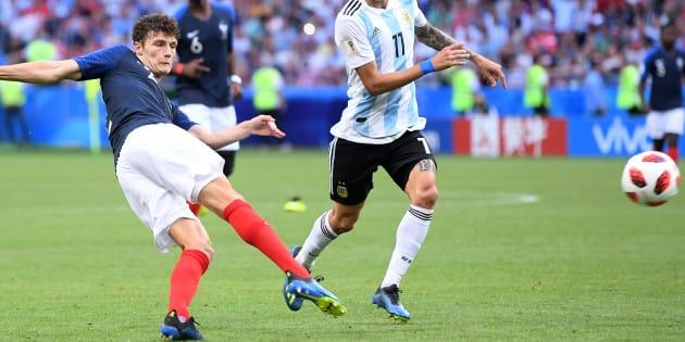 Benjamin Pavard s'est fait un nom en bleu avec cette magnifique demi-volée pendant France-Argentine à la Coupe du monde 2018