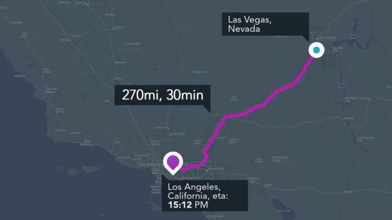 photo image No hyperloop yet, but there's a hyperloop mobile app